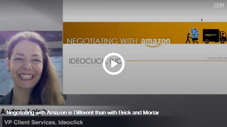 Negotiating with Amazon is Different than with Brick and Mortar